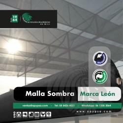 """Malla sombra """"Marca León"""""""